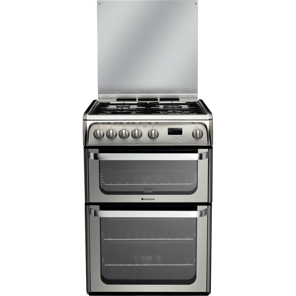 Hotpoint Double Cooker HUG61X : discover the specifications of our home appliances and bring the innovation into your house and family.