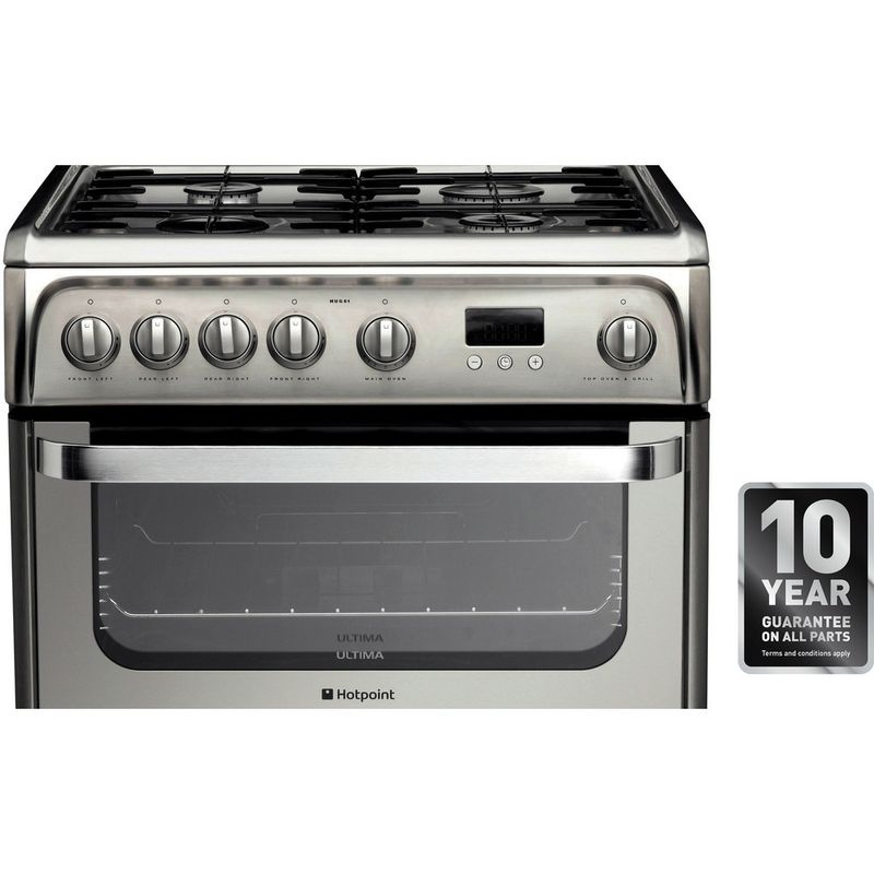 Hotpoint-Double-Cooker-HUG61X-Inox-A--Stainless-steel-Award