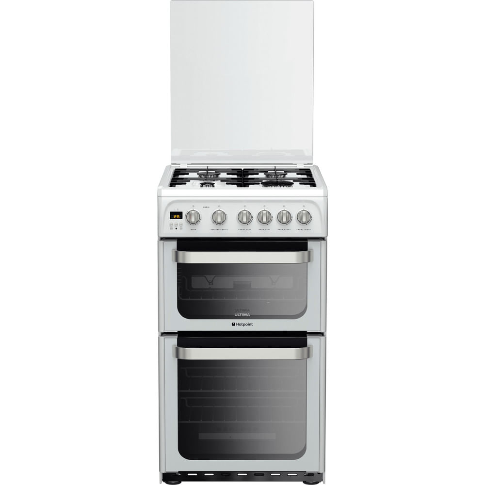 Hotpoint Double Cooker HUG52P : discover the specifications of our home appliances and bring the innovation into your house and family.