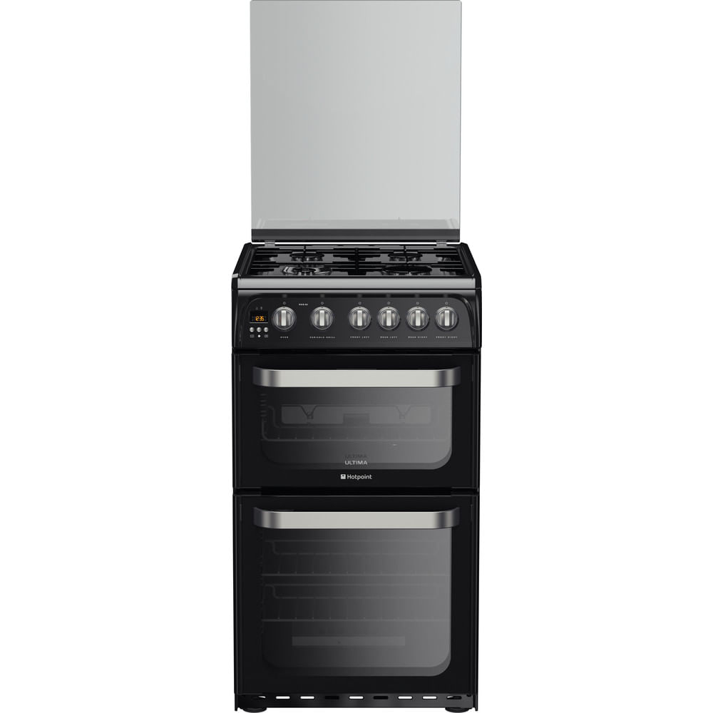 Hotpoint Double Cooker HUG52K : discover the specifications of our home appliances and bring the innovation into your house and family.