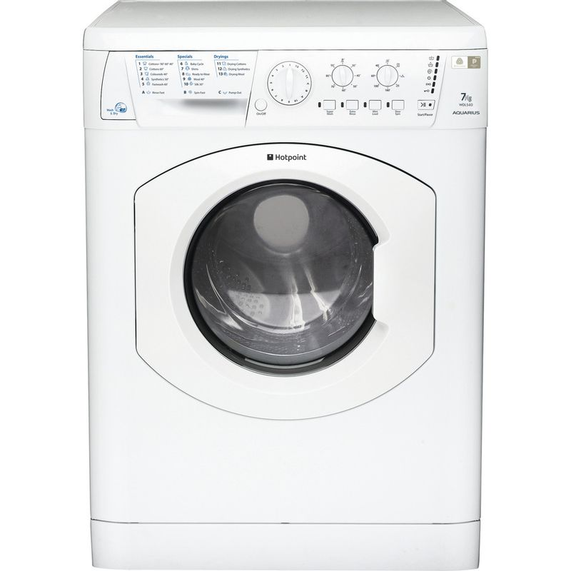 Hotpoint-Washer-dryer-Free-standing-WDL-540-P--UK-.C-White-Front-loader-Frontal