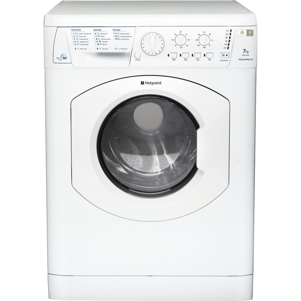 Hotpoint Freestanding Washer Dryer WDL 540 P (UK).C : discover the specifications of our home appliances and bring the innovation into your house and family.