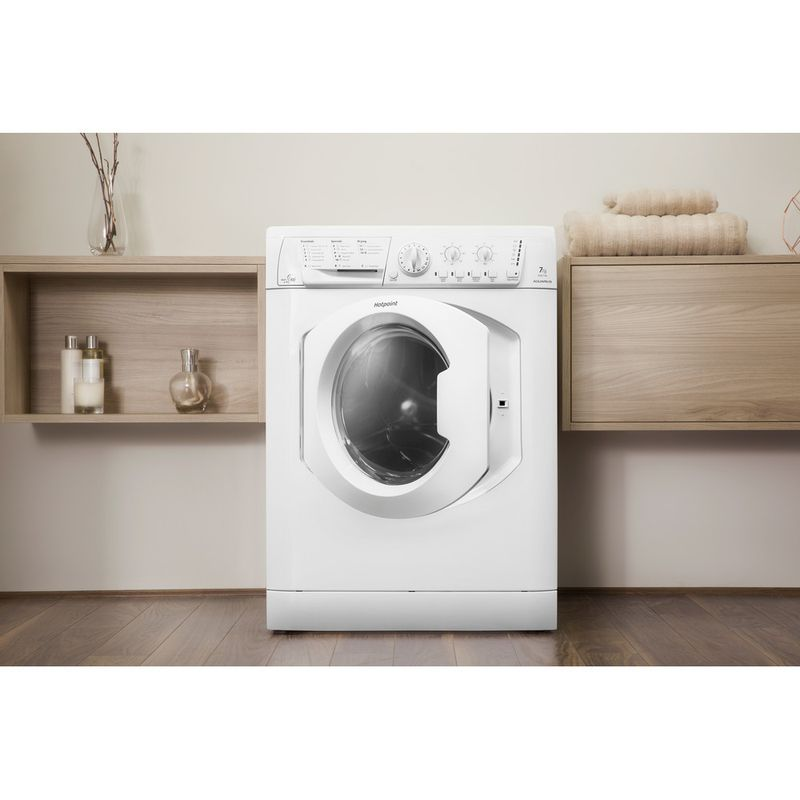 Hotpoint-Washer-dryer-Free-standing-WDL-540-P--UK-.C-White-Front-loader-Lifestyle-frontal-open