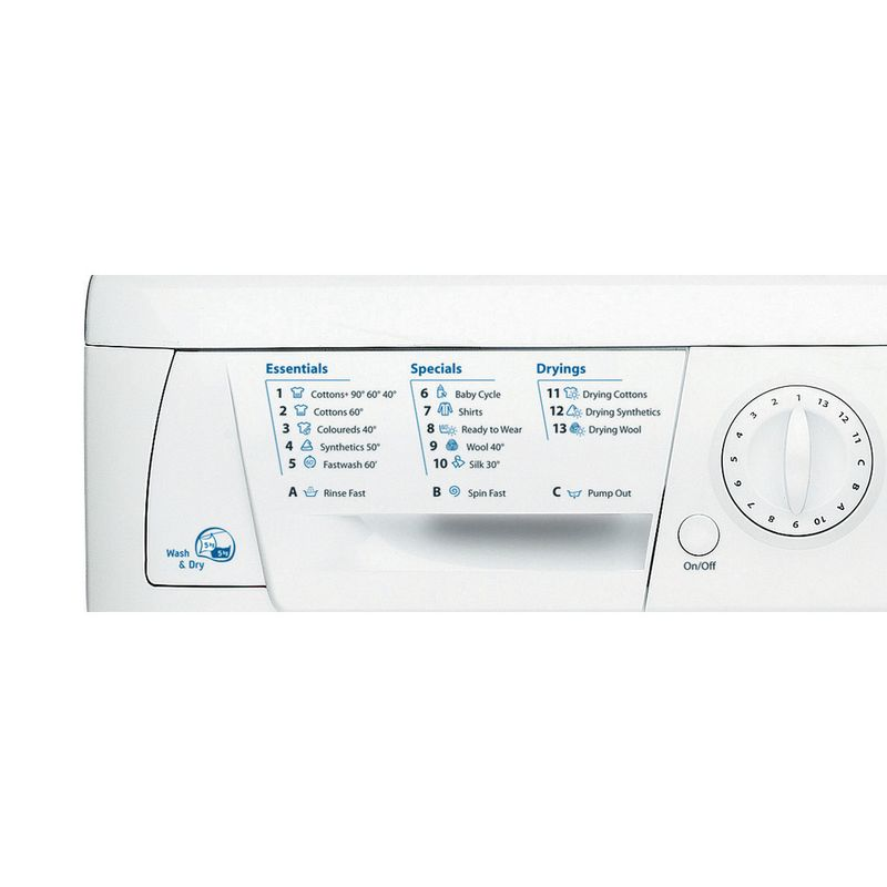 Hotpoint-Washer-dryer-Free-standing-WDL-540-P--UK-.C-White-Front-loader-Program