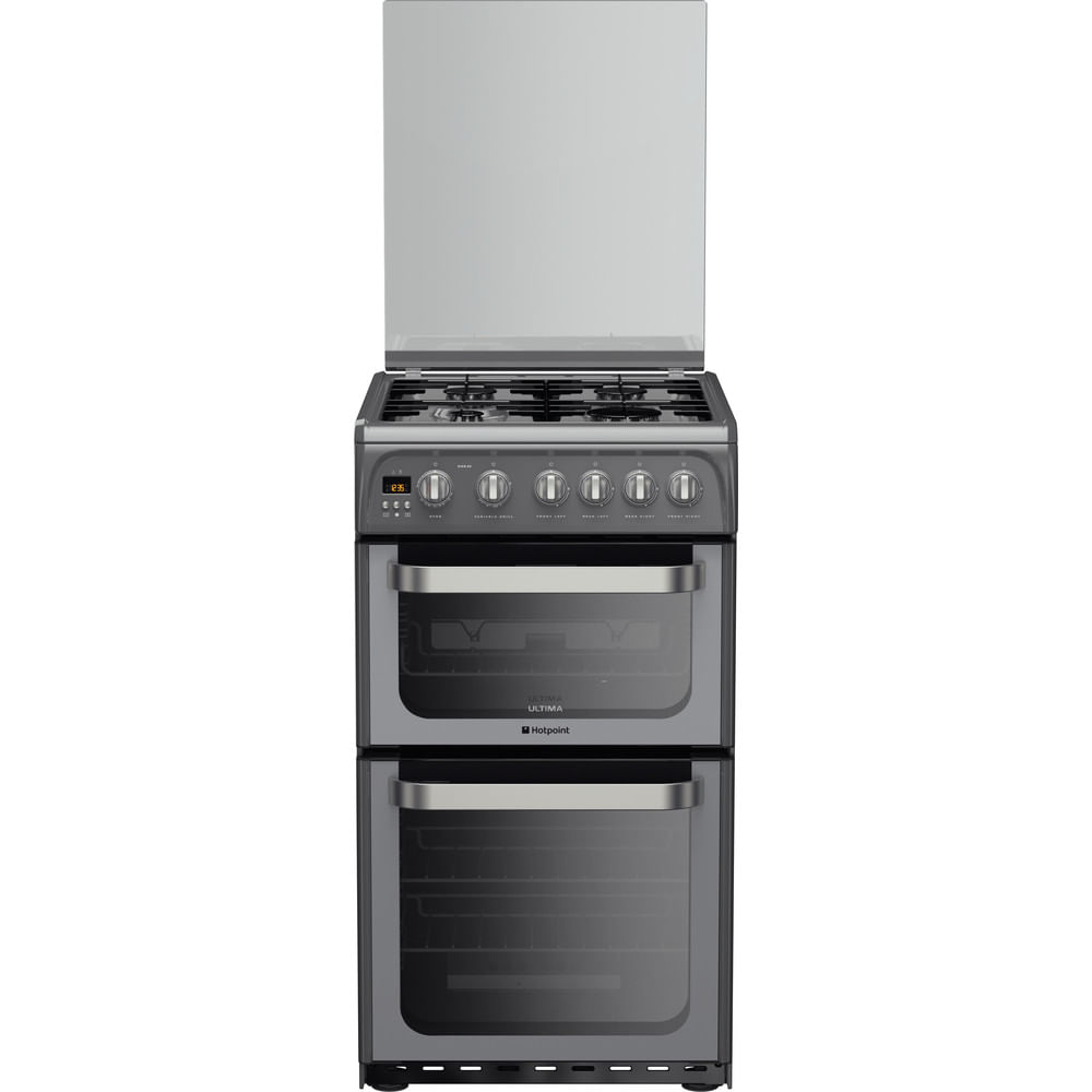 Hotpoint Double Cooker HUG52G : discover the specifications of our home appliances and bring the innovation into your house and family.
