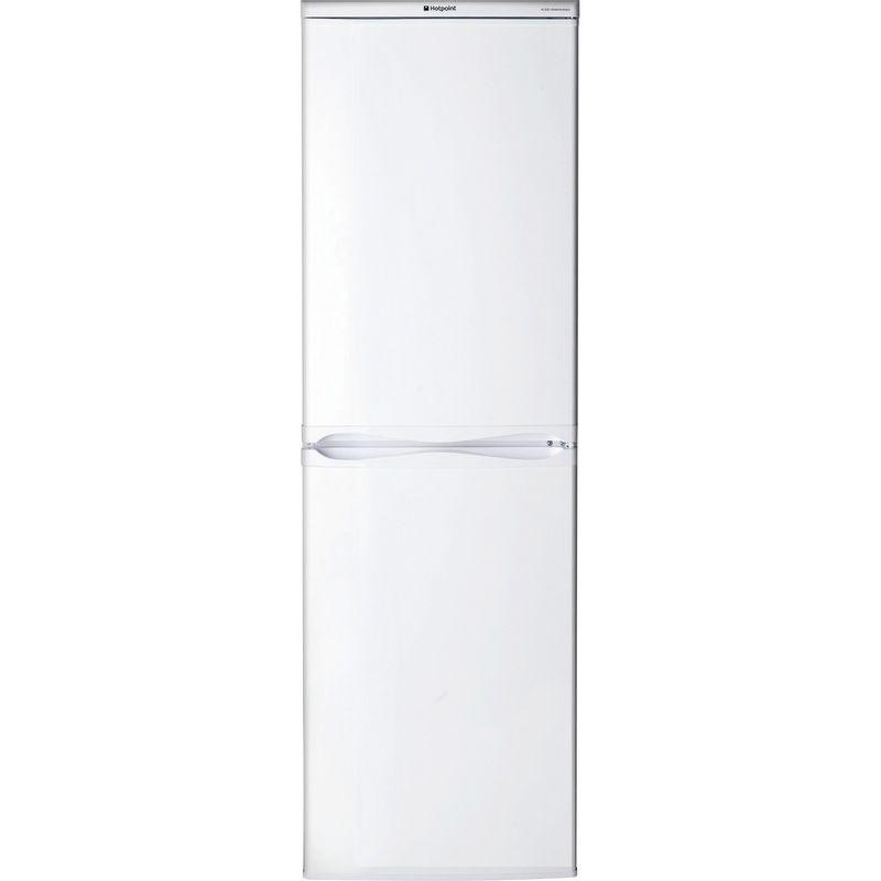 Hotpoint-Fridge-Freezer-Free-standing-RFAA52P-White-2-doors-Frontal