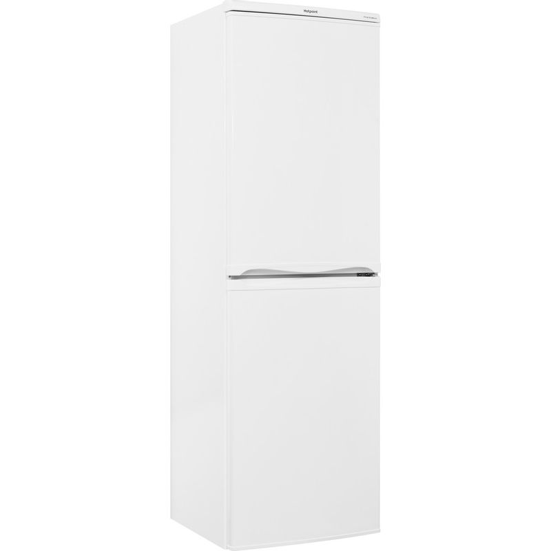 Hotpoint-Fridge-Freezer-Free-standing-RFAA52P-White-2-doors-Perspective