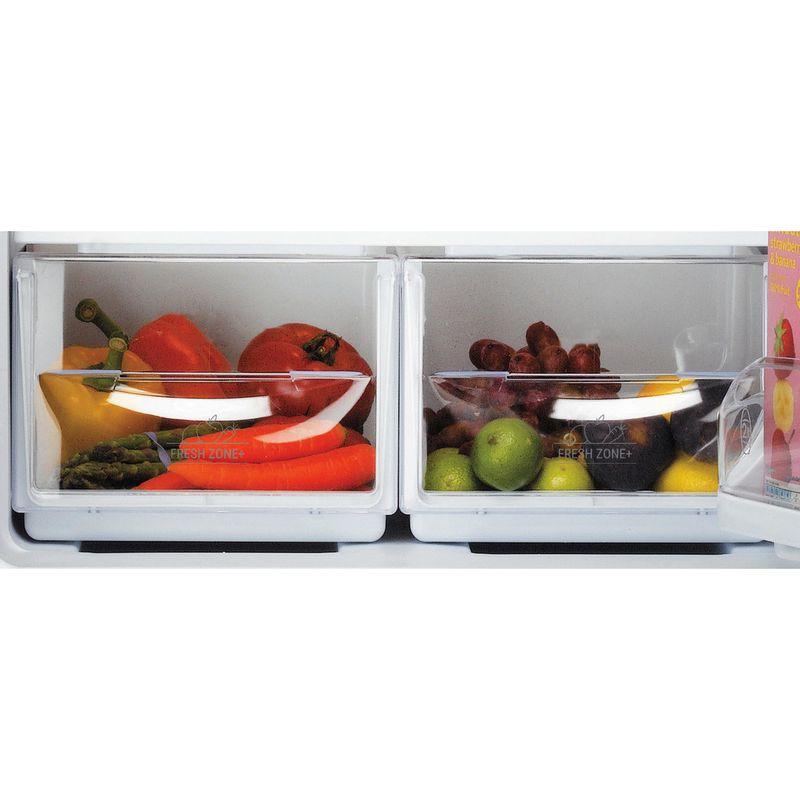 Hotpoint-Fridge-Freezer-Free-standing-RFAA52P-White-2-doors-Drawer