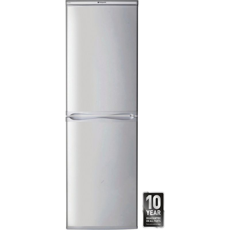 Hotpoint-Fridge-Freezer-Free-standing-RFAA52S-Silver-2-doors-Award