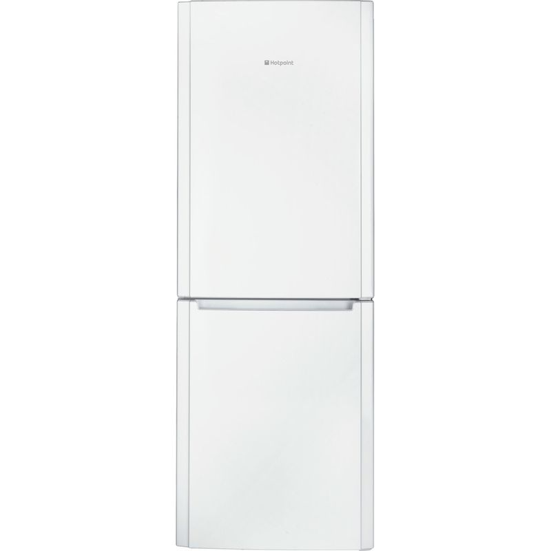 Hotpoint-Fridge-Freezer-Free-standing-FFUL-1913-P-White-2-doors-Frontal