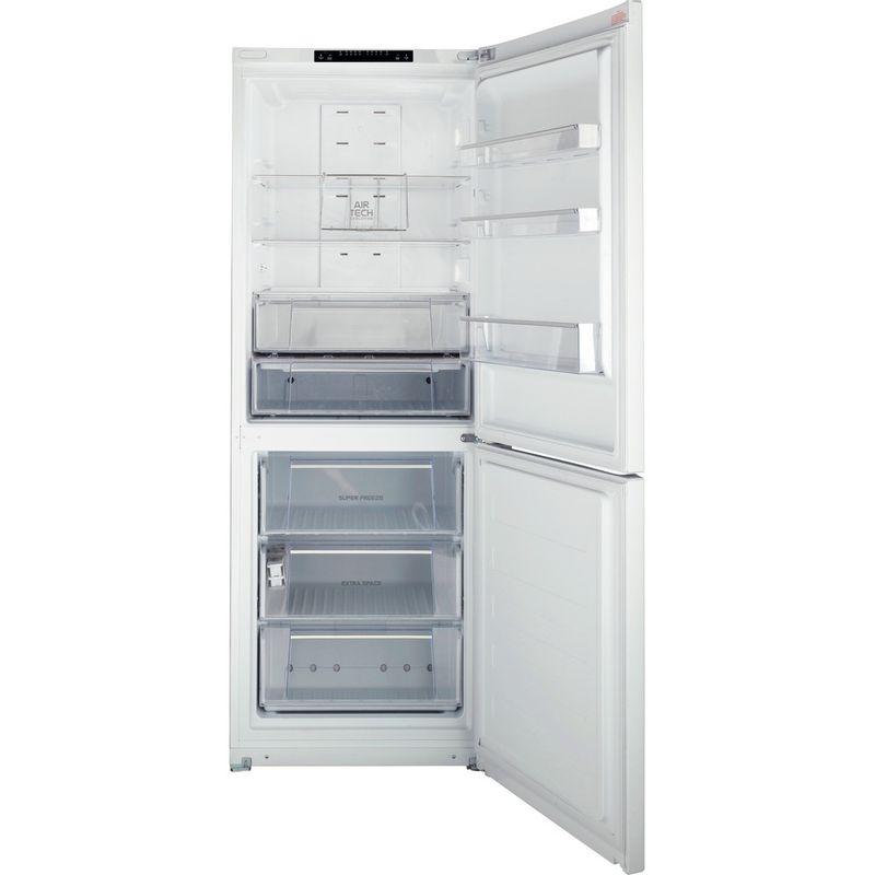 Hotpoint-Fridge-Freezer-Free-standing-FFUL-1913-P-White-2-doors-Frontal_Open