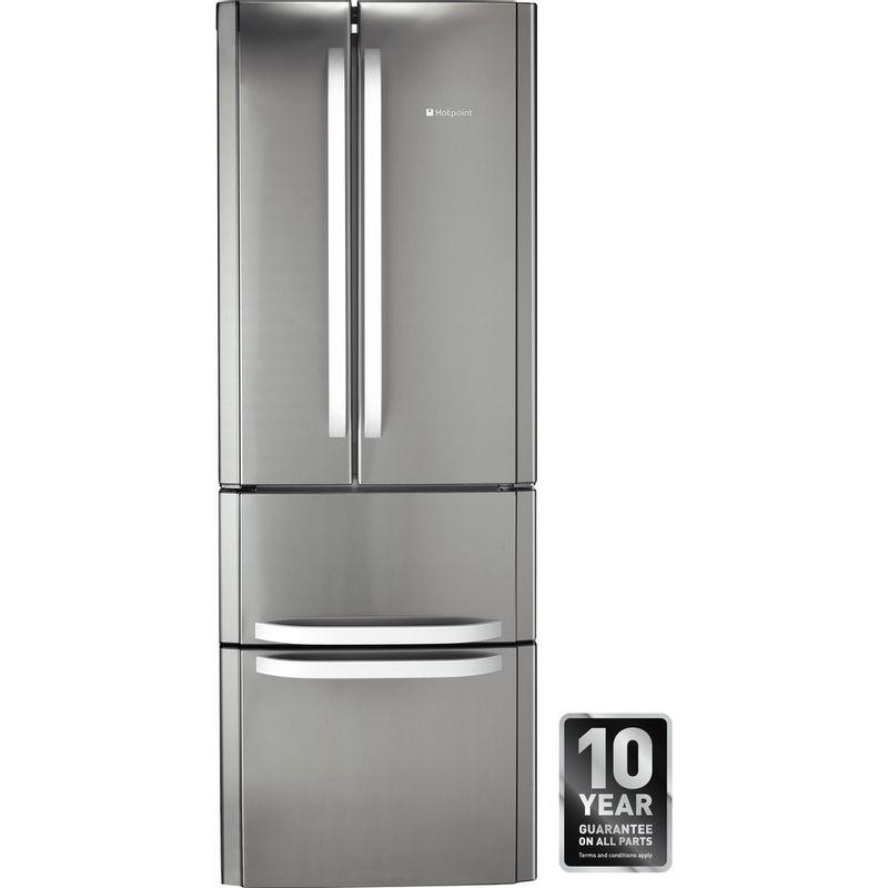 Hotpoint-Fridge-Freezer-Free-standing-FFU4D-X-Inox-2-doors-Award