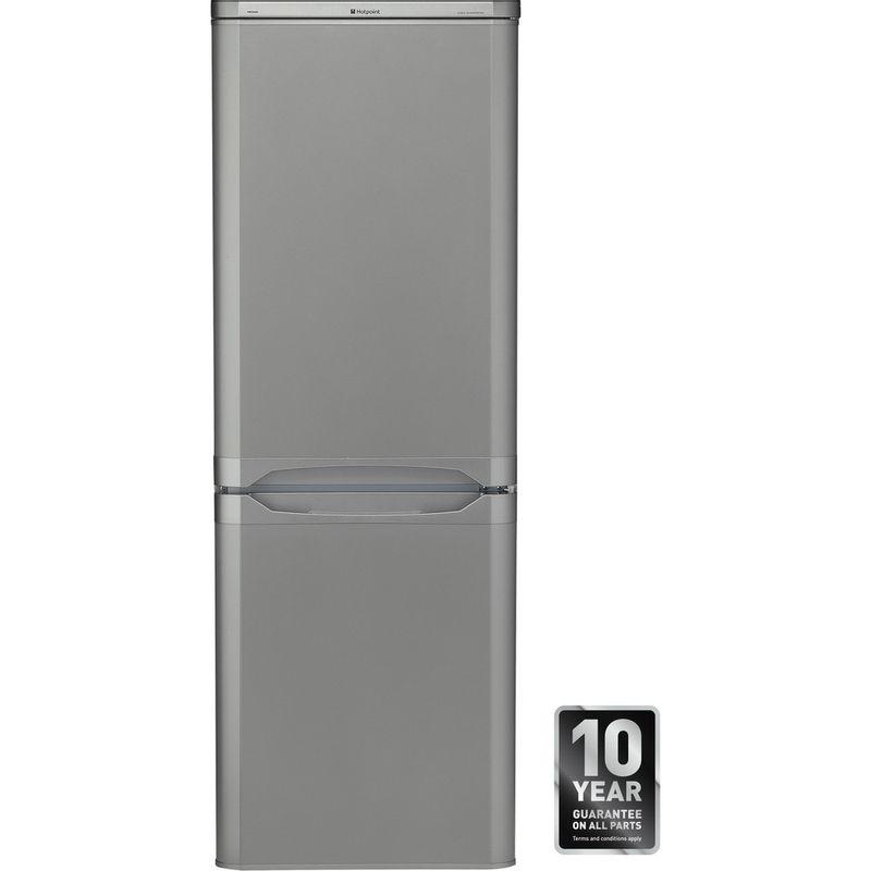 Hotpoint-Fridge-Freezer-Free-standing-NRFAA50S-Silver-2-doors-Award