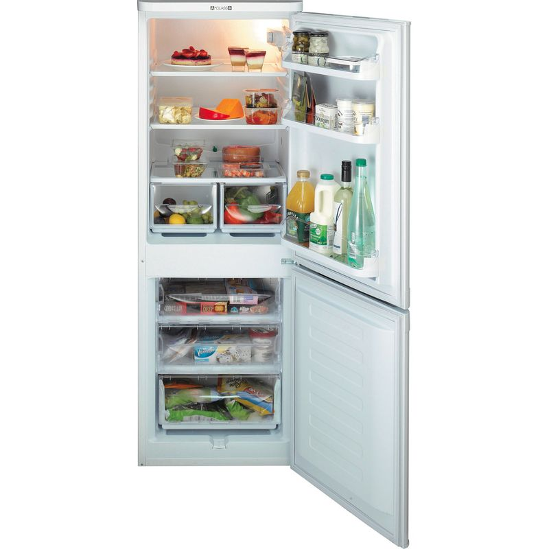 Hotpoint-Fridge-Freezer-Free-standing-NRFAA50P-White-2-doors-Frontal_Open