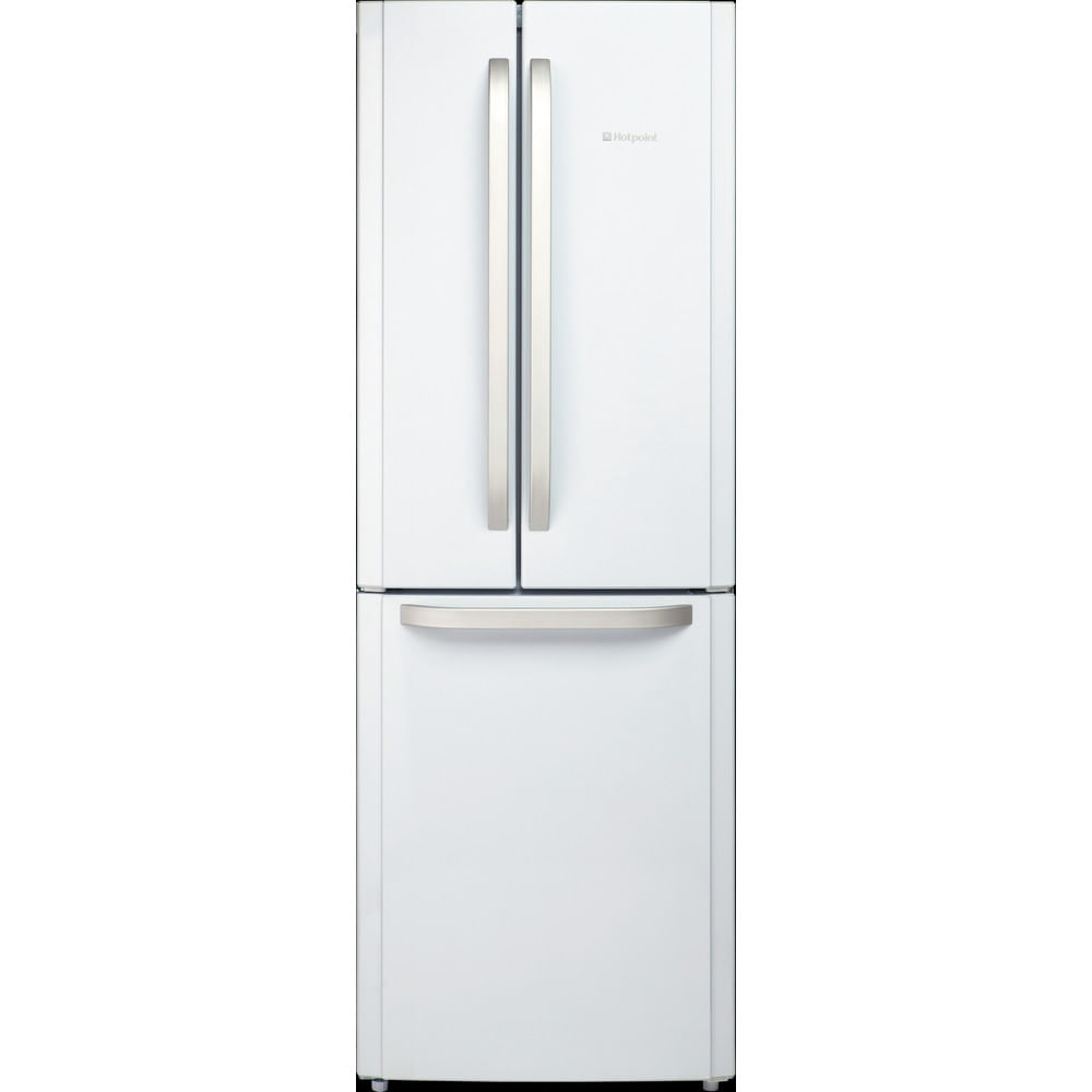 Hotpoint Freestanding fridge freezer FFU3D W : discover the specifications of our home appliances and bring the innovation into your house and family.