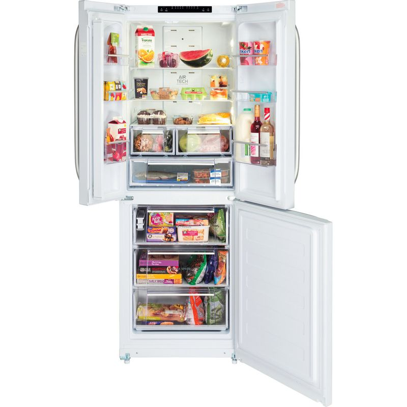 Hotpoint-Fridge-Freezer-Free-standing-FFU3D-W-White-2-doors-Frontal_Open