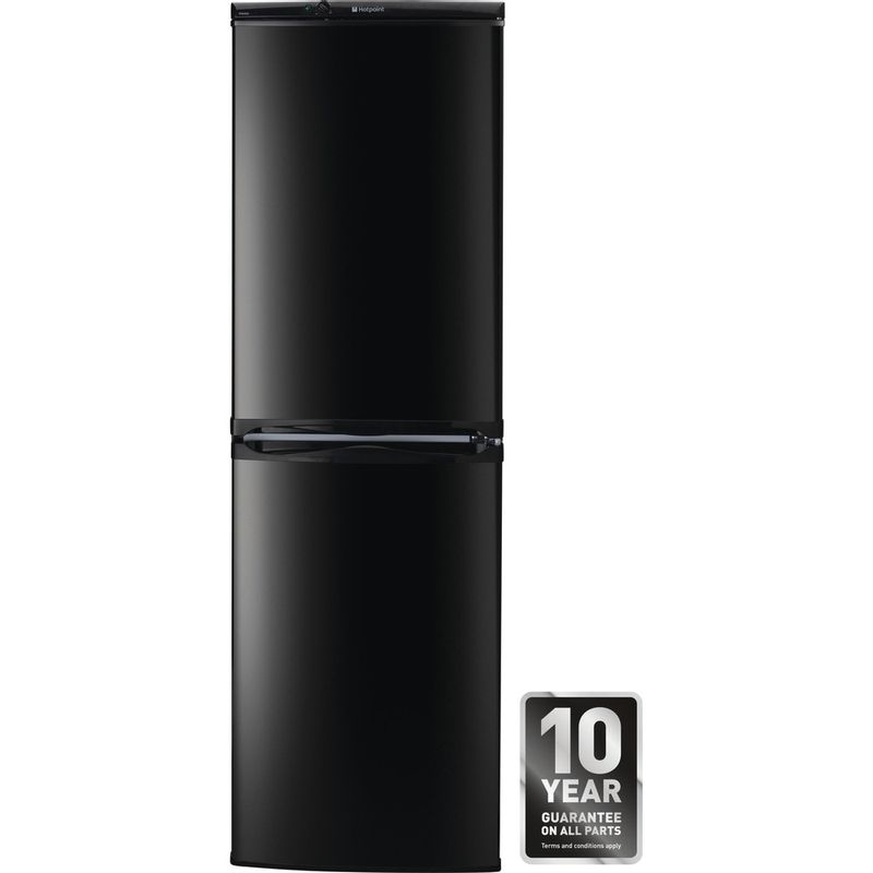 Hotpoint-Fridge-Freezer-Free-standing-FFAA52K.1-Black-2-doors-Award