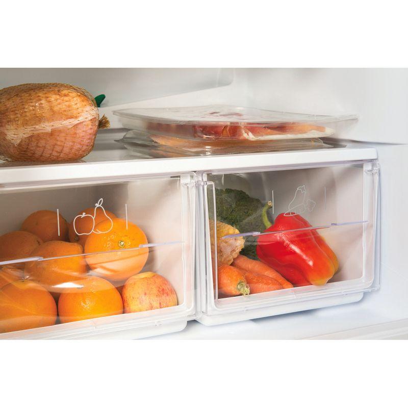Hotpoint-Fridge-Freezer-Free-standing-FFAA52K.1-Black-2-doors-Drawer