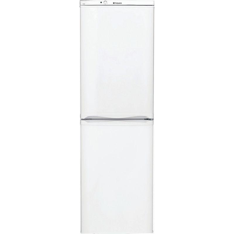 Hotpoint-Fridge-Freezer-Free-standing-FFAA52P.1-White-2-doors-Frontal