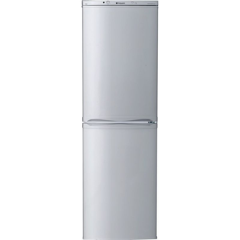 Hotpoint-Fridge-Freezer-Free-standing-FFAA52S.1-Silver-2-doors-Frontal
