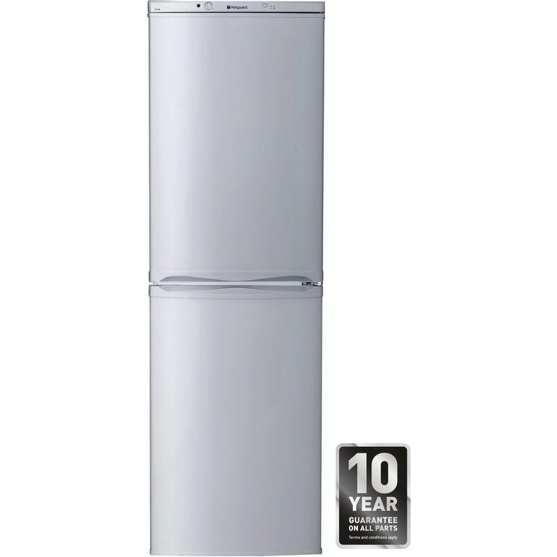 Hotpoint-Fridge-Freezer-Free-standing-FFAA52S.1-Silver-2-doors-Award