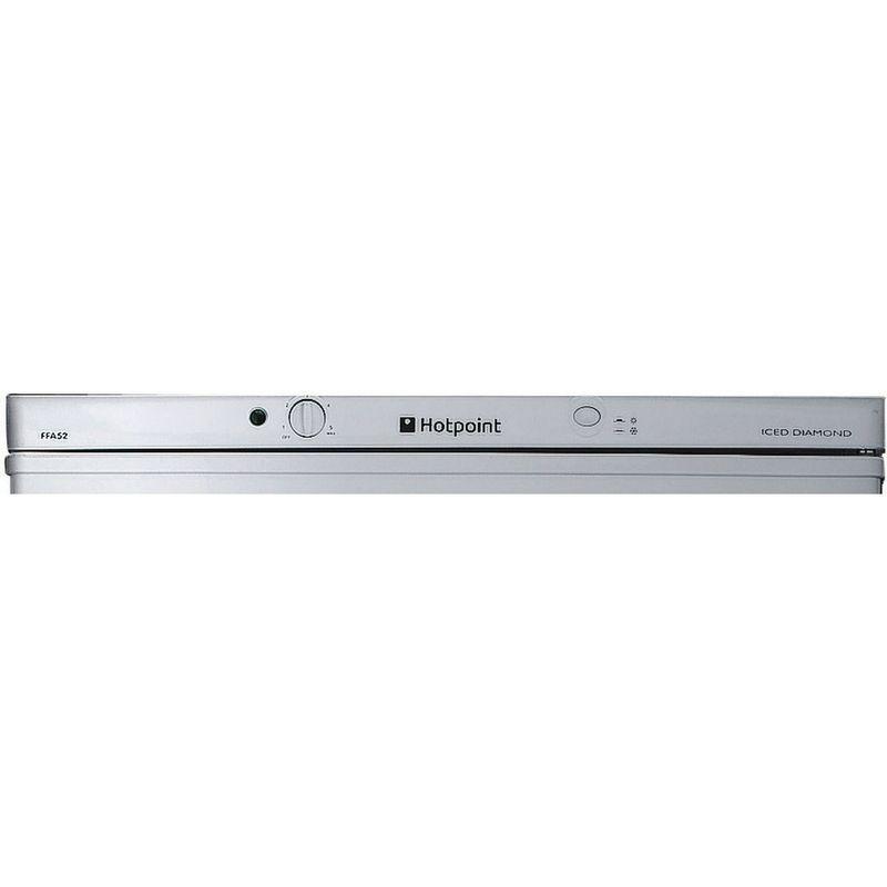 Hotpoint-Fridge-Freezer-Free-standing-FFAA52S.1-Silver-2-doors-Control_Panel
