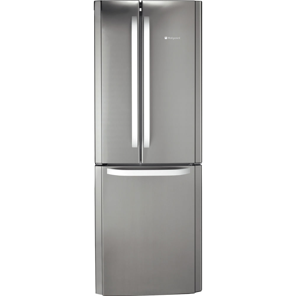 Hotpoint Freestanding fridge freezer FFU3D X : discover the specifications of our home appliances and bring the innovation into your house and family.