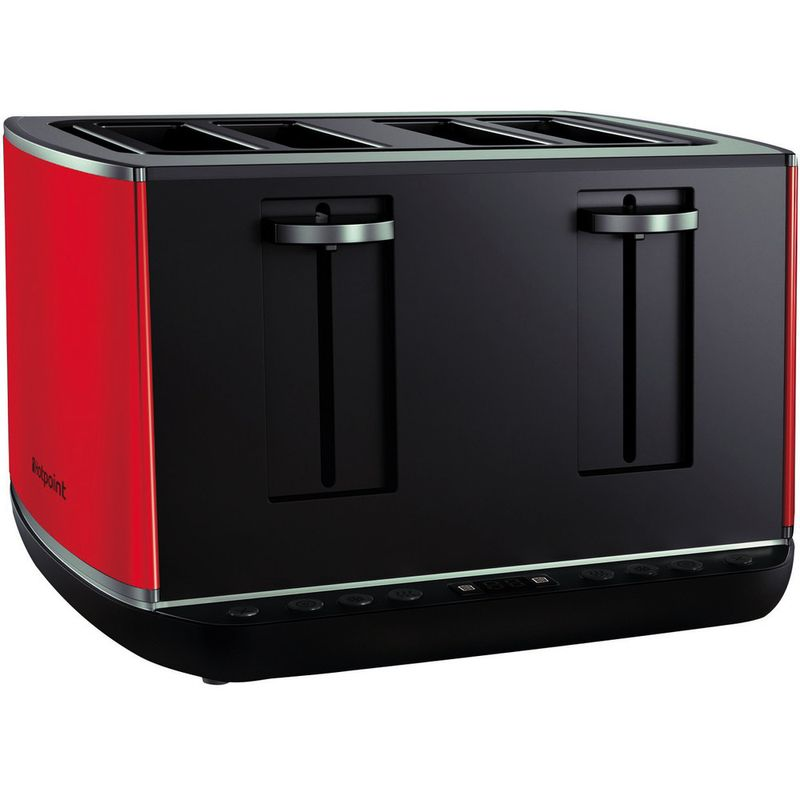 Hotpoint-Toaster-Free-standing-TT-44E-AR0-UK-Red-Perspective
