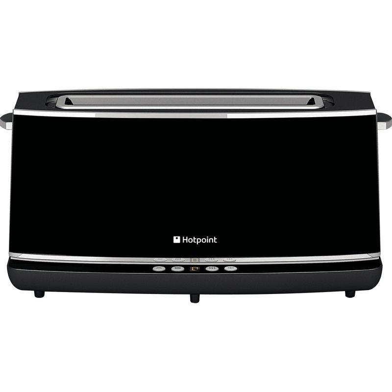 Hotpoint-Toaster-Free-standing-TT-12E-AB0-UK-Black-Profile