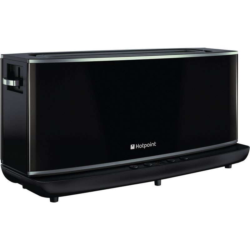 Hotpoint-Toaster-Free-standing-TT-12E-AB0-UK-Black-Perspective