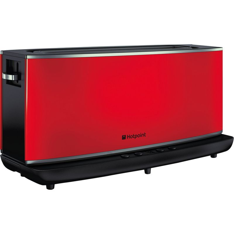 Hotpoint-Toaster-Free-standing-TT-12E-AR0-UK-Red-Perspective