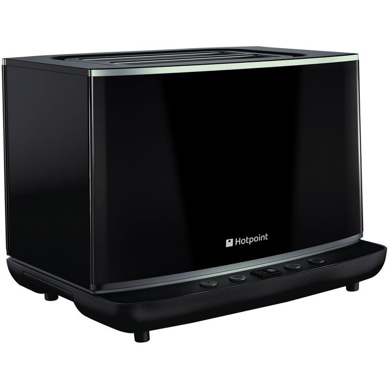 Hotpoint-Toaster-Free-standing-TT-22E-AB0-UK-Black-Perspective