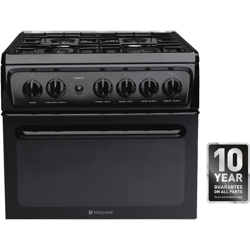 Hotpoint-Double-Cooker-HAGL51K-Black-A--Enamelled-Sheetmetal-Award