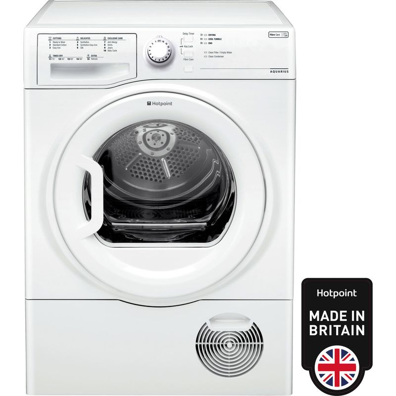 Hotpoint-Dryer-TCFS-83B-GP--UK--White-Frontal
