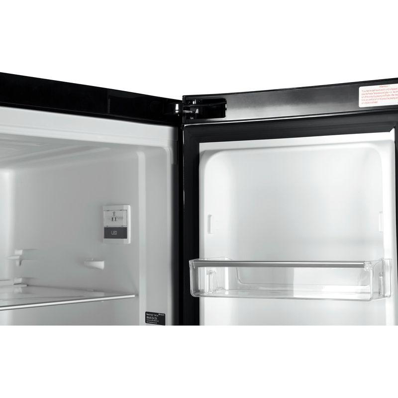 Hotpoint-Fridge-Freezer-Free-standing-FFU3DG-K-Black-2-doors-Lifestyle_Detail