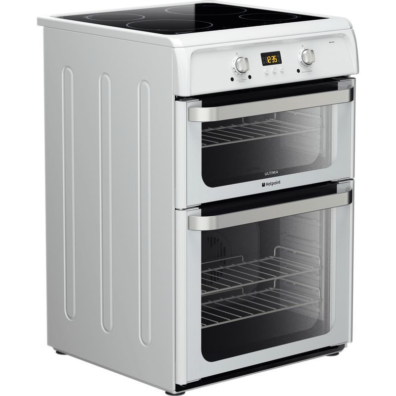 Hotpoint-Double-Cooker-HUI612-P-White-A-Vitroceramic-Perspective
