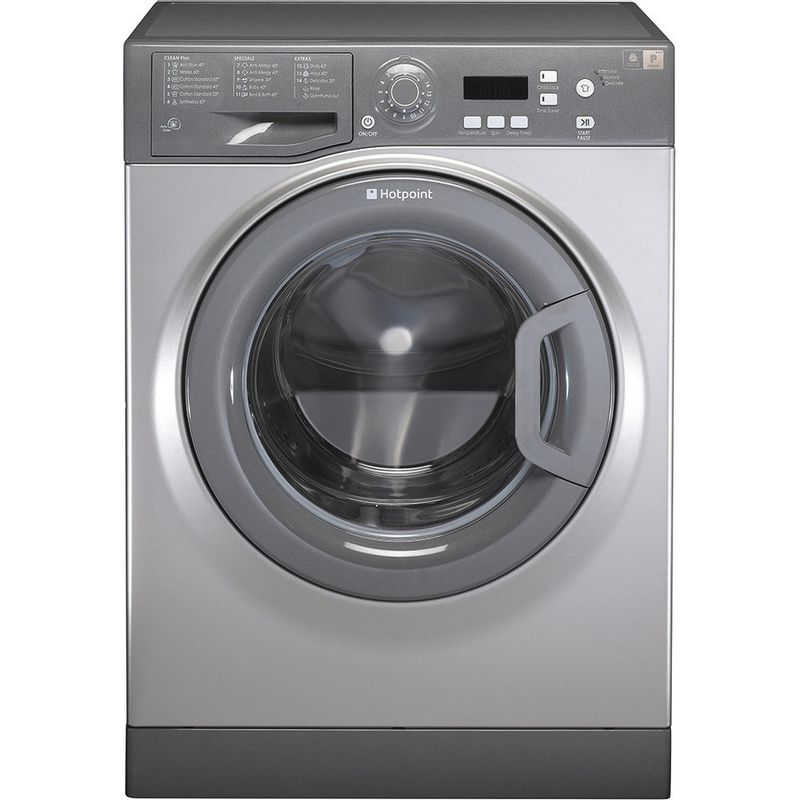 Hotpoint-Washing-machine-Free-standing-WMAQF-721G-UK-Graphite-Front-loader-A--Frontal
