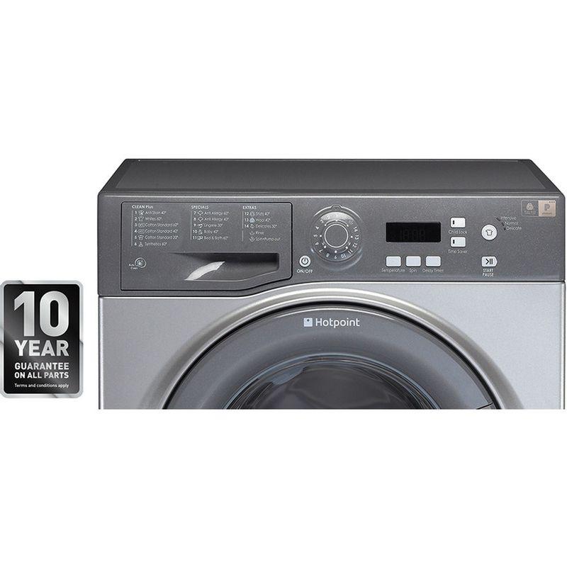 Hotpoint-Washing-machine-Free-standing-WMAQF-721G-UK-Graphite-Front-loader-A--Award