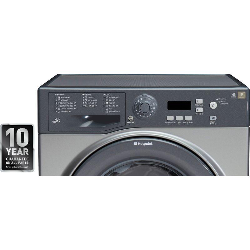 Hotpoint-Washing-machine-Free-standing-WMXTF-742G-UK-Graphite-Front-loader-A---Award