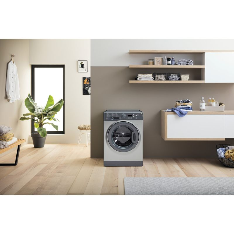 Hotpoint-Washing-machine-Free-standing-WMXTF-742G-UK-Graphite-Front-loader-A---Lifestyle-frontal
