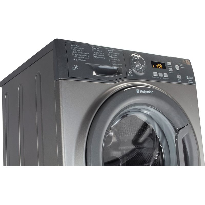 Hotpoint-Washing-machine-Free-standing-WMXTF-742G-UK-Graphite-Front-loader-A---Control-panel