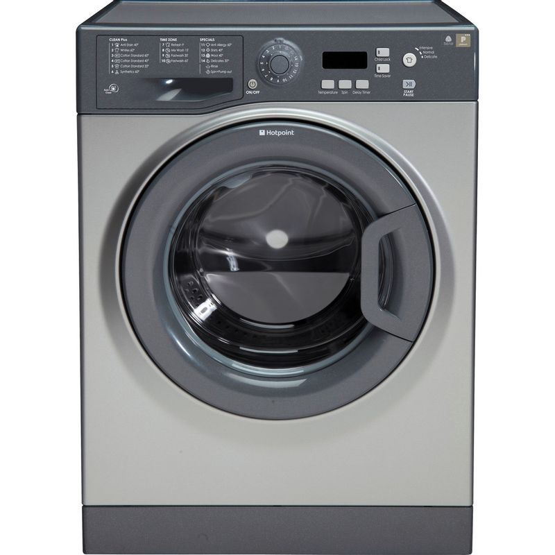 Hotpoint-Washing-machine-Free-standing-WMXTF-742G-UK-Graphite-Front-loader-A---Frontal