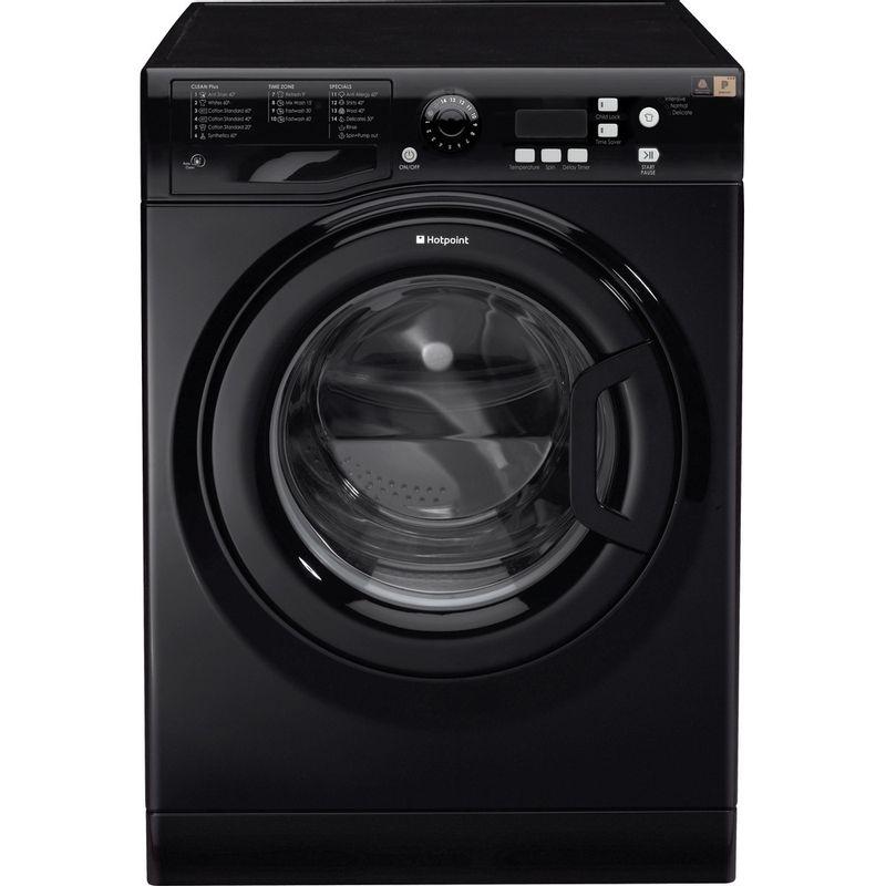 Hotpoint-Washing-machine-Free-standing-WMXTF-742K-UK-Black-Front-loader-A---Frontal