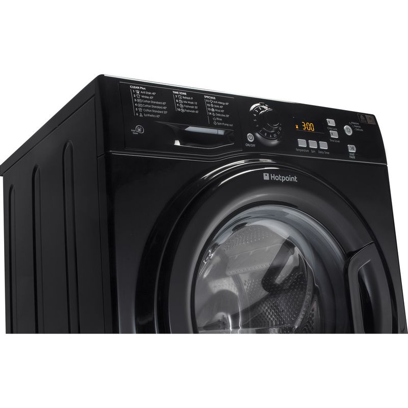 Hotpoint-Washing-machine-Free-standing-WMXTF-742K-UK-Black-Front-loader-A---Lifestyle_Perspective