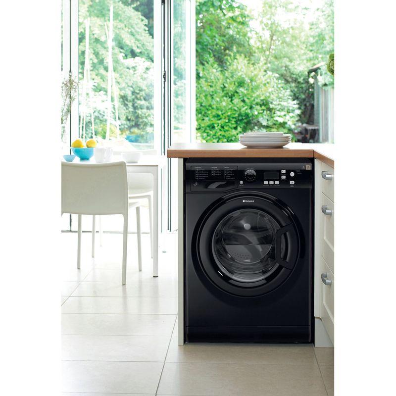 Hotpoint-Washing-machine-Free-standing-WMXTF-742K-UK-Black-Front-loader-A---Lifestyle_Frontal
