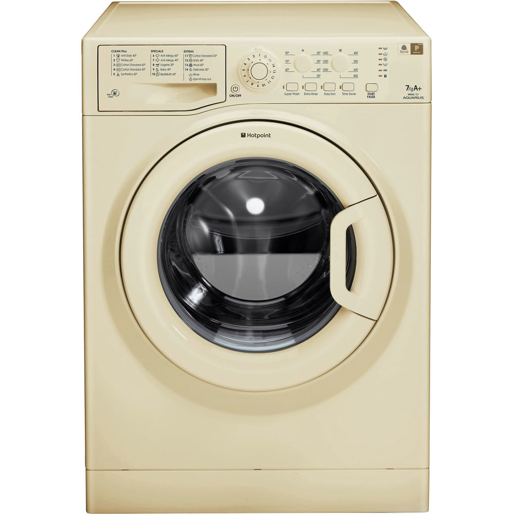 Hotpoint Freestanding Washing Machine WMAQL 721A UK : discover the specifications of our home appliances and bring the innovation into your house and family.