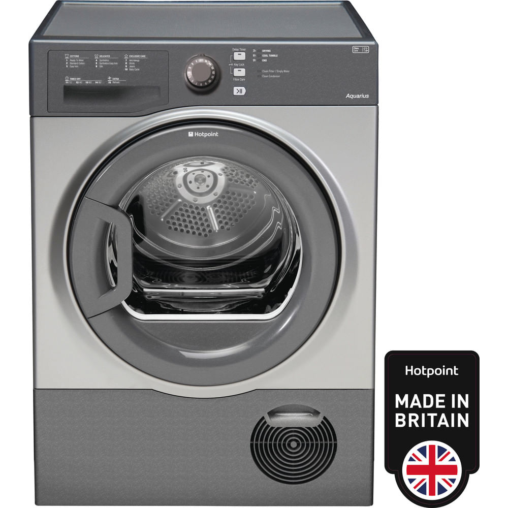Hotpoint Freestanding tumble dryer TCFS 83B GG (UK) : discover the specifications of our home appliances and bring the innovation into your house and family.