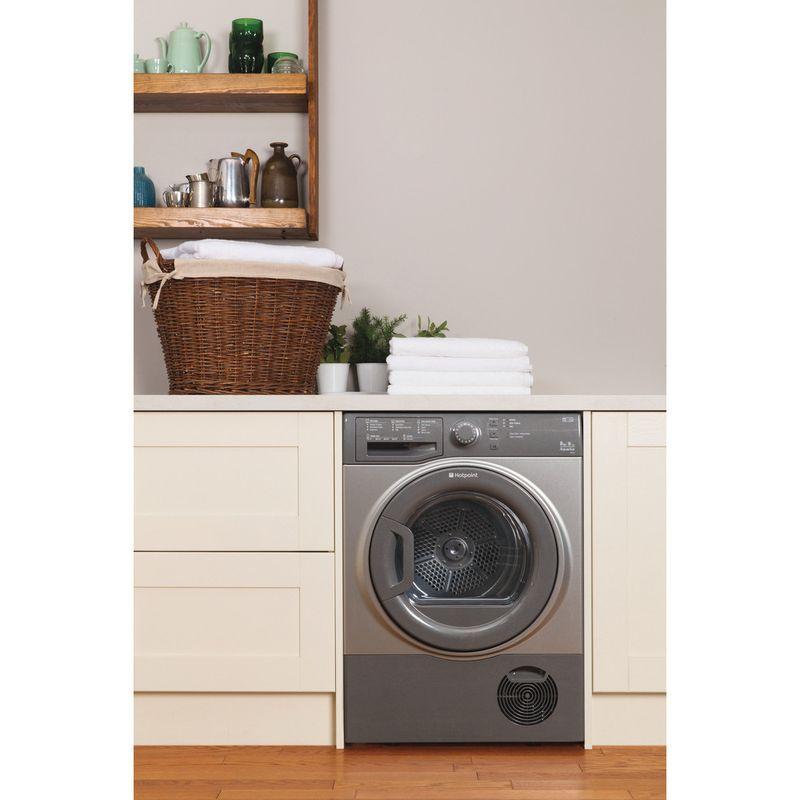 Hotpoint-Dryer-TCFS-83B-GG--UK--Graphite-Lifestyle_Frontal