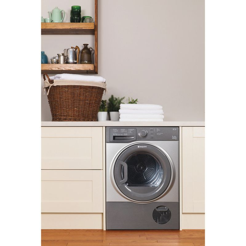 Hotpoint-Dryer-TCFS-73B-GG--UK--Graphite-Lifestyle-frontal