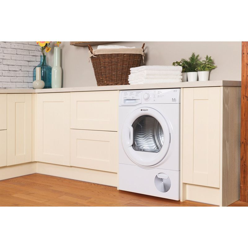 Hotpoint-Dryer-TCFS-93B-GP--UK--White-Lifestyle-perspective